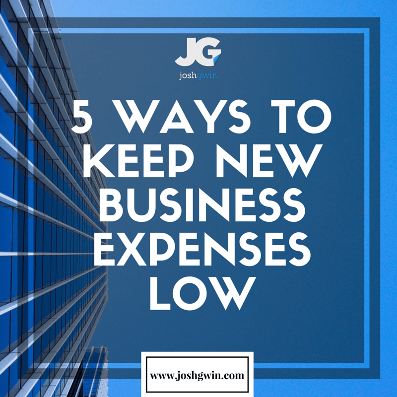 how to keep business expenses low